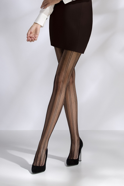 Collants résille TI040 - noir